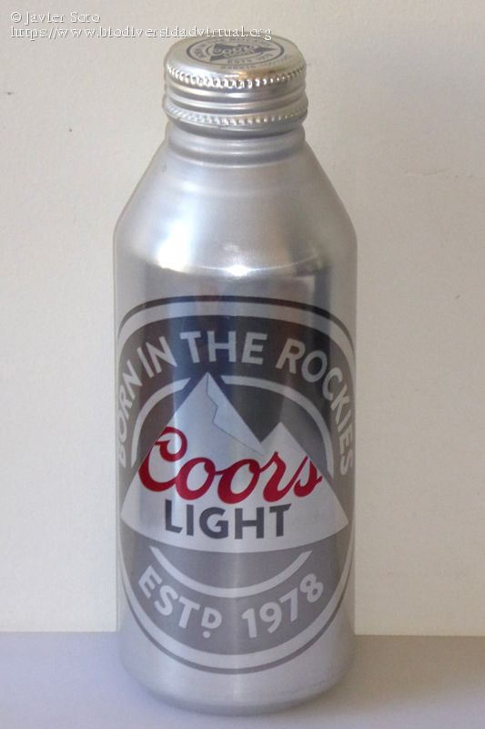 Cerveza Coors Light The Silver Bullet Nice Look